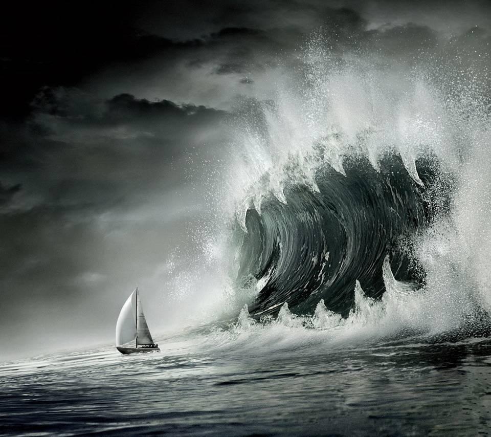 Картинки с надписью цунами