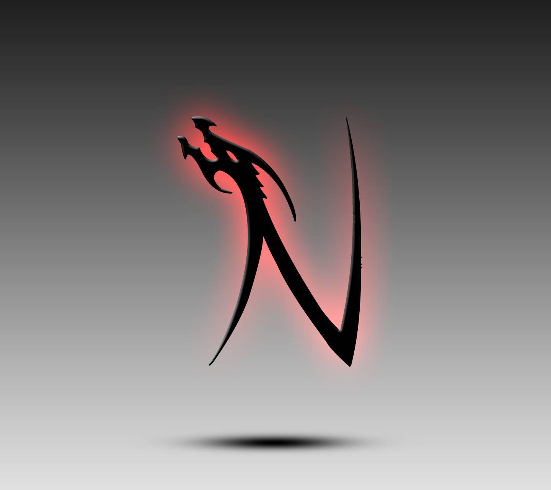 Dragon Alphabet N