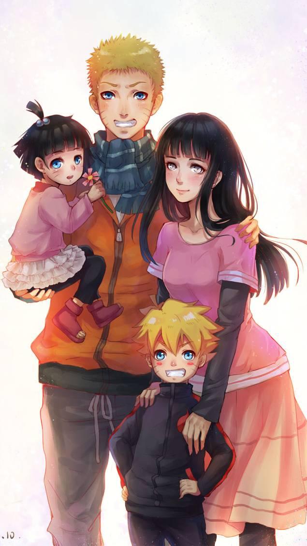 Naruto And Hinata Family Wallpaper Familyscopes