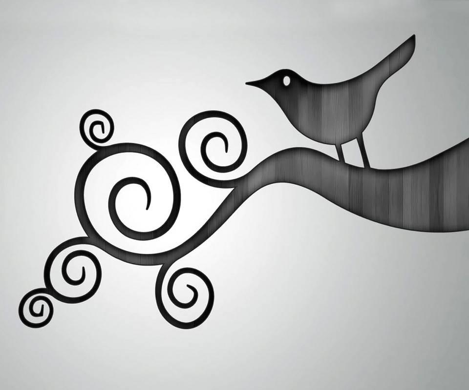 Astract Bird