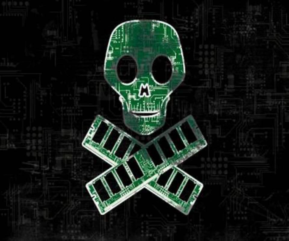 hd grunge skull