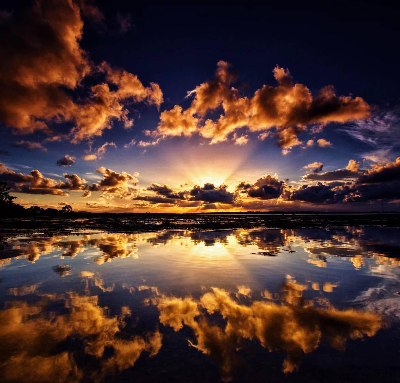Exotic sunset II
