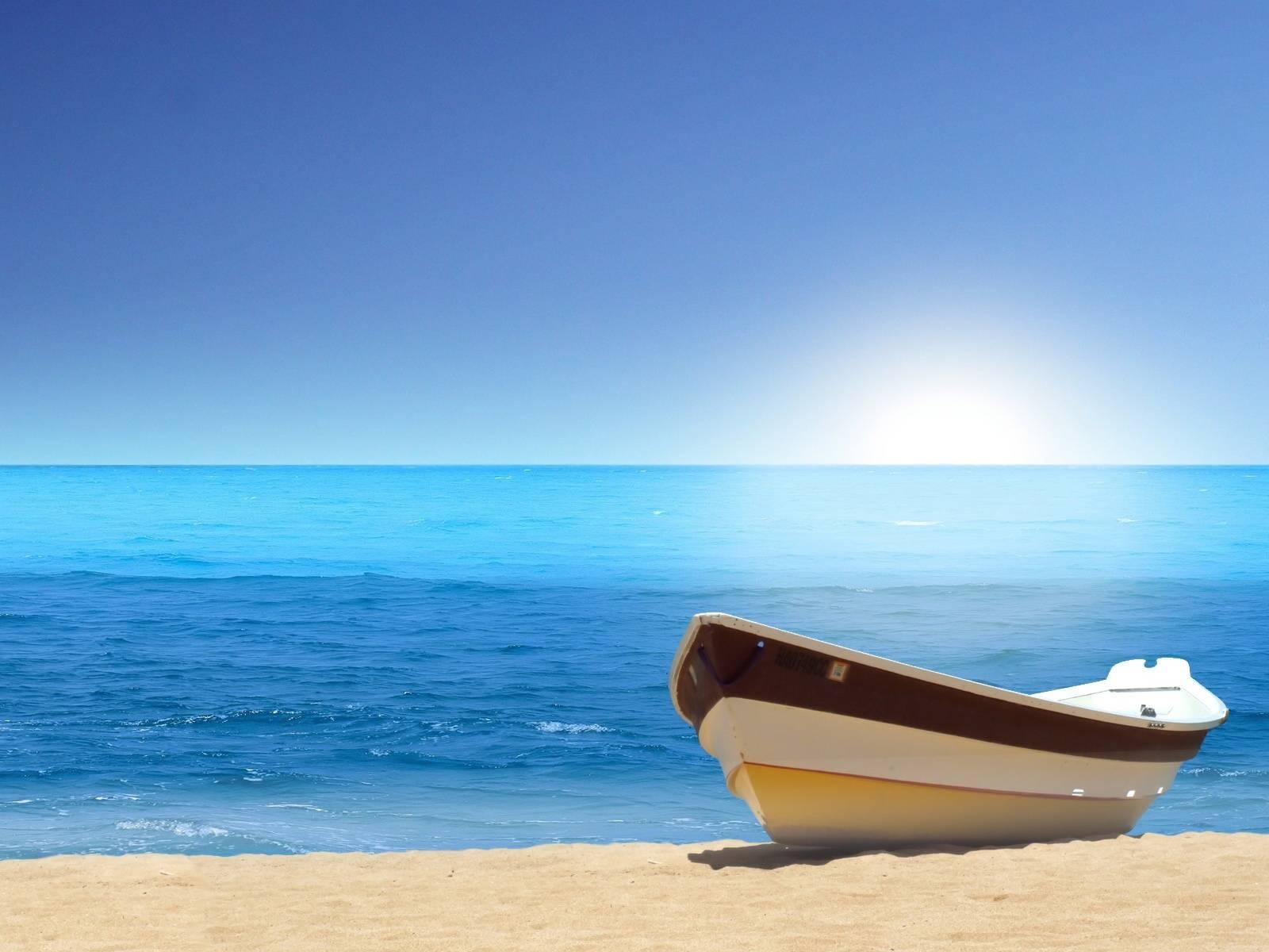 Boat Sea Beach Hd