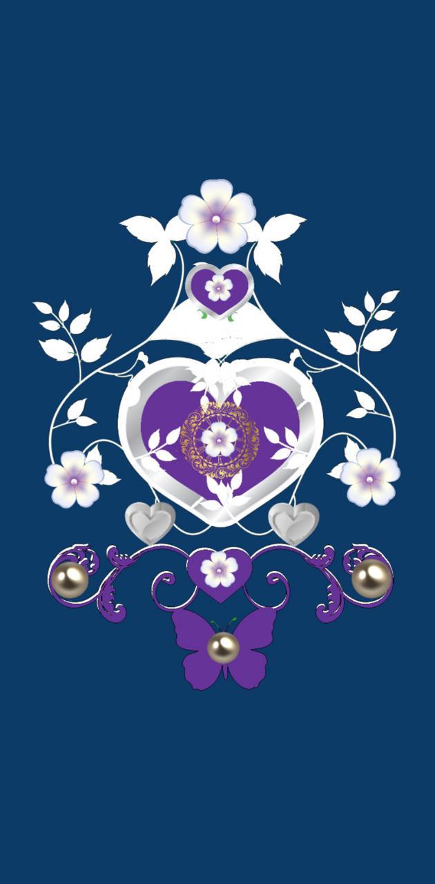 Purpleheartbutterfly