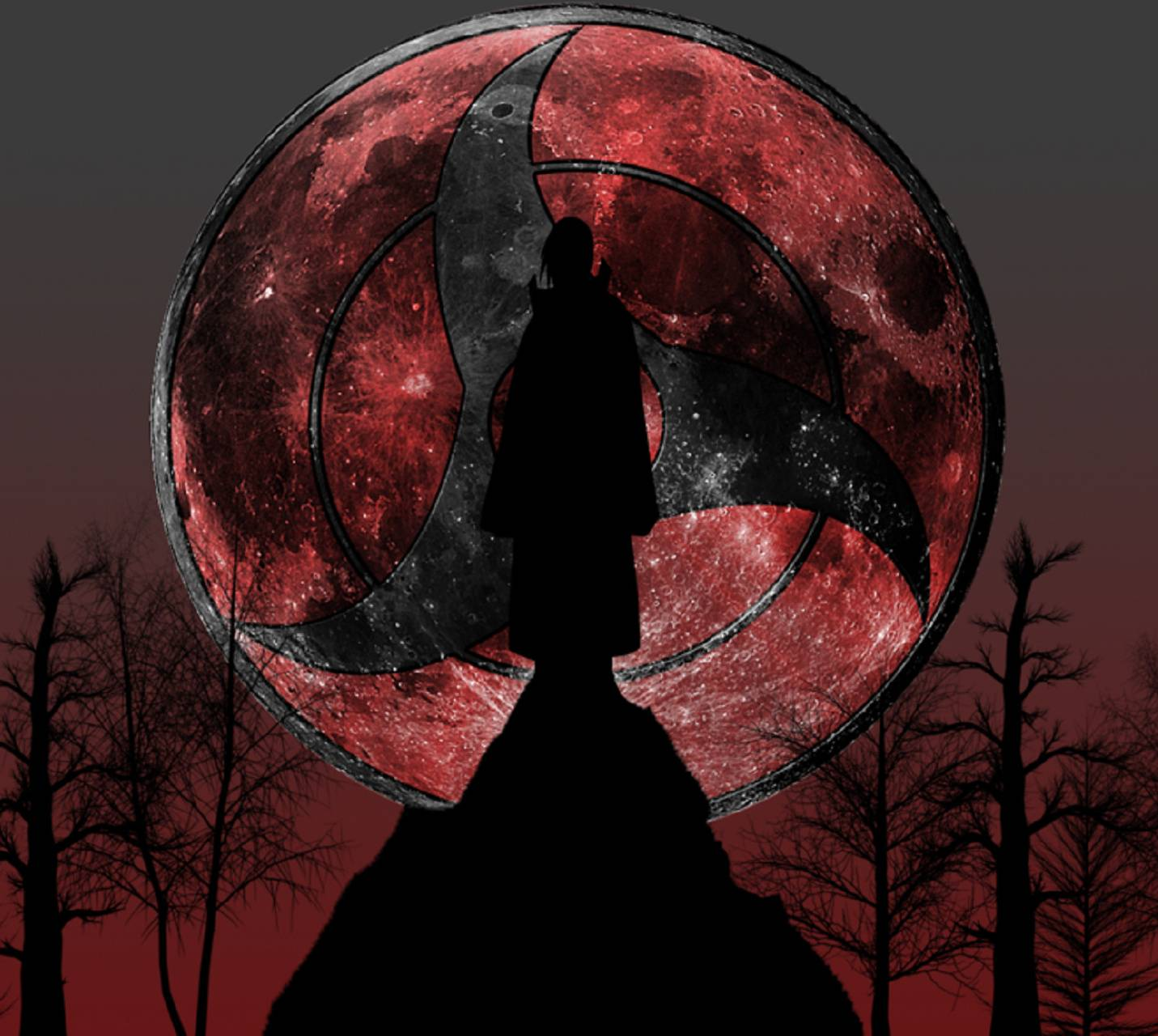 Sharingan Moon Wallpaper By Metalfrank