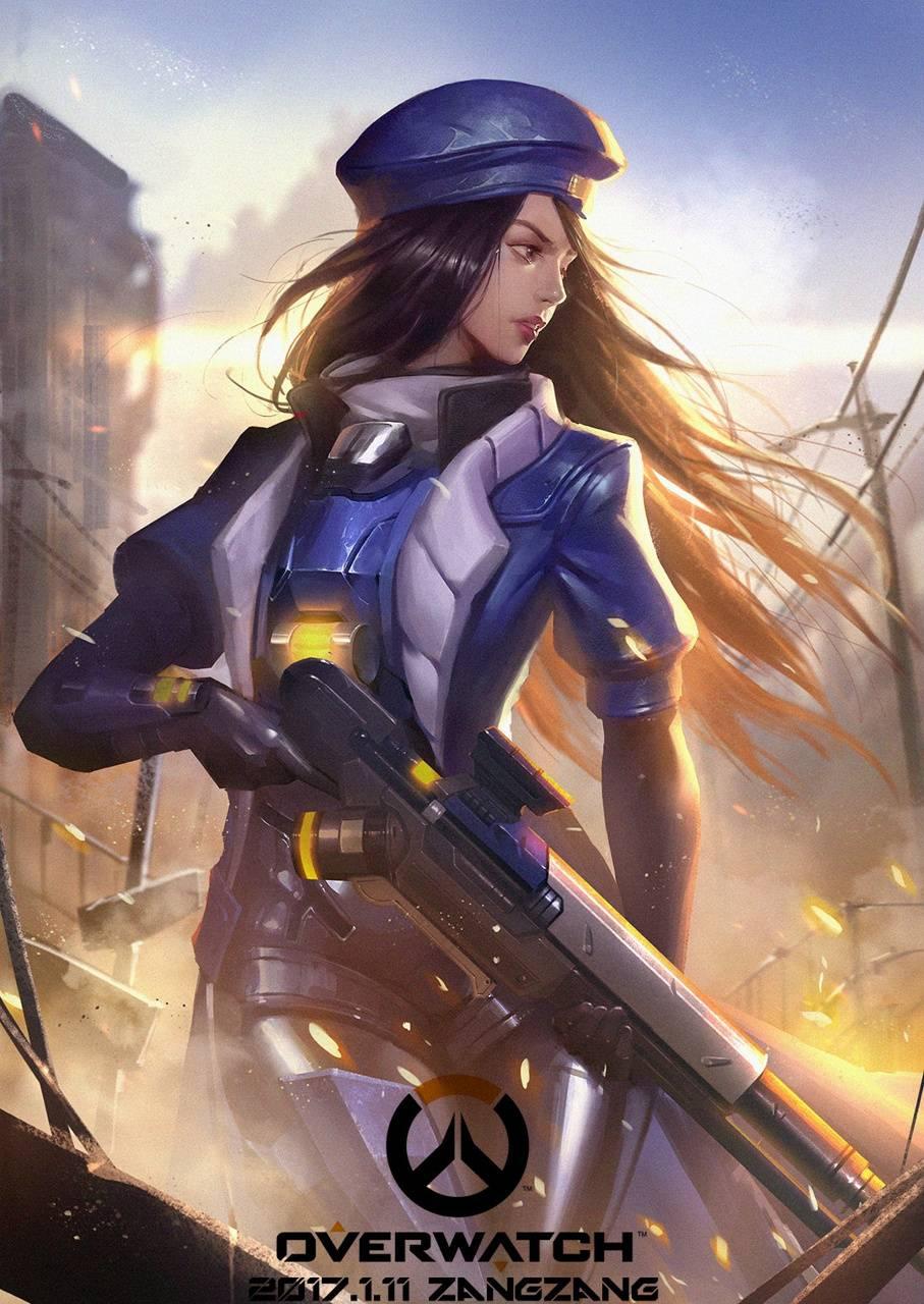 Overwatch Young Ana Wallpaper By Queenadri 41 Free On Zedge
