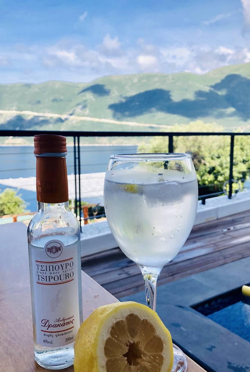 Greece drink