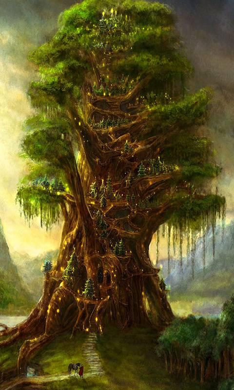 The Giant Tree Wallpaper By Azakiandbabuci 7c Free On Zedge