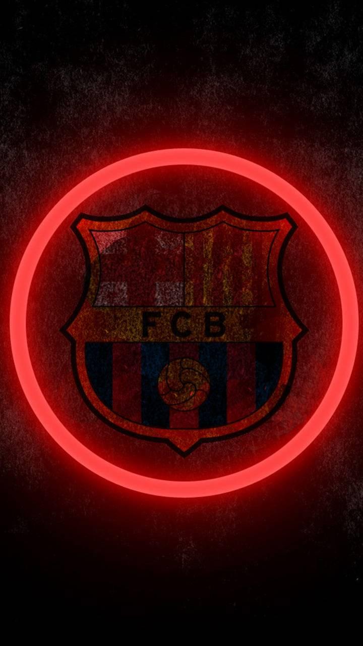 Barcelona red circle