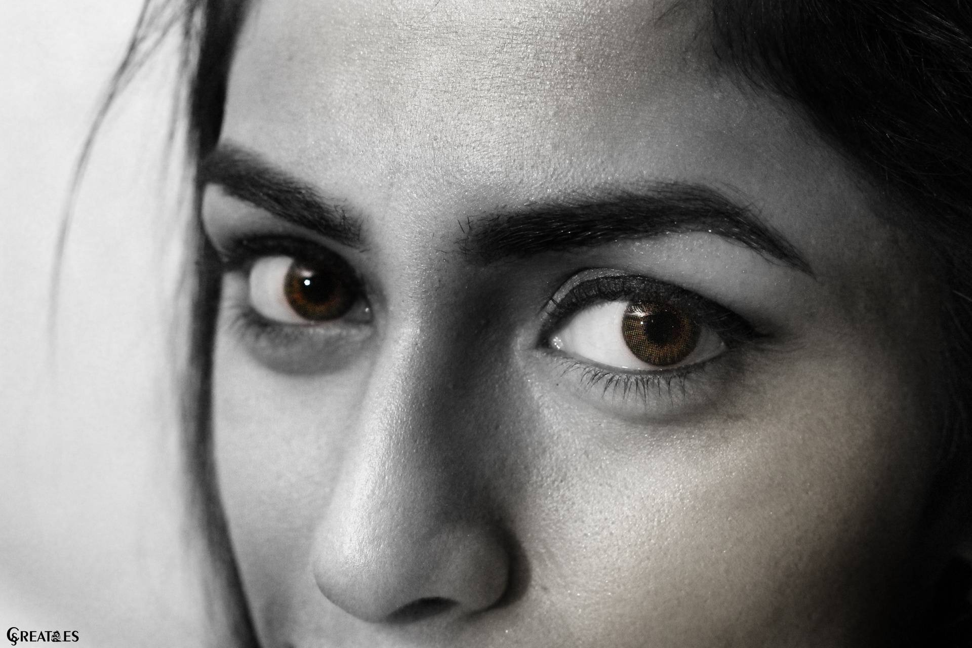 Eyes sharpness