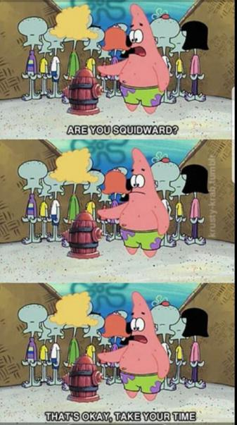 R U squidward