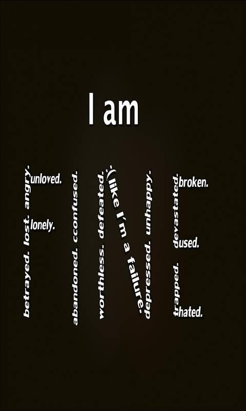 i am fine Wallpaper by __JULIANNA__ - 7b - Free on ZEDGE™