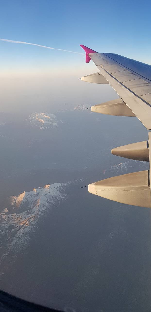 Mountain from air