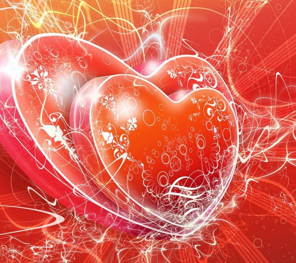 Bubbles On Hearts