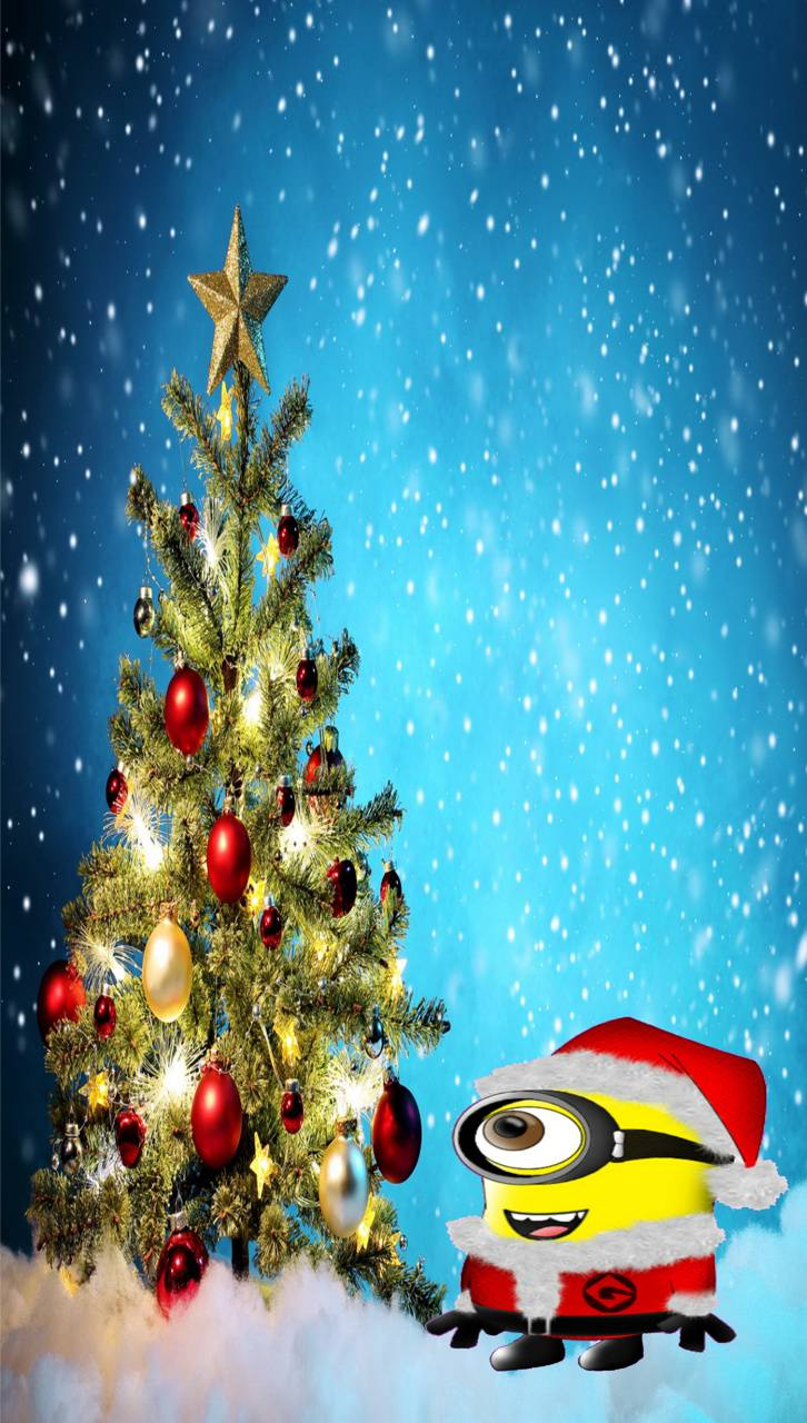 Minion Christmas Tr