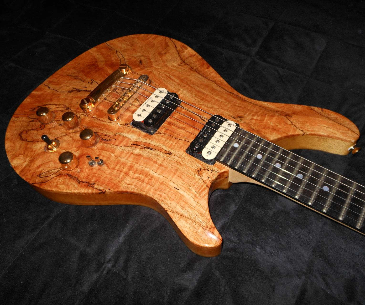 Spalted Maple Guitar