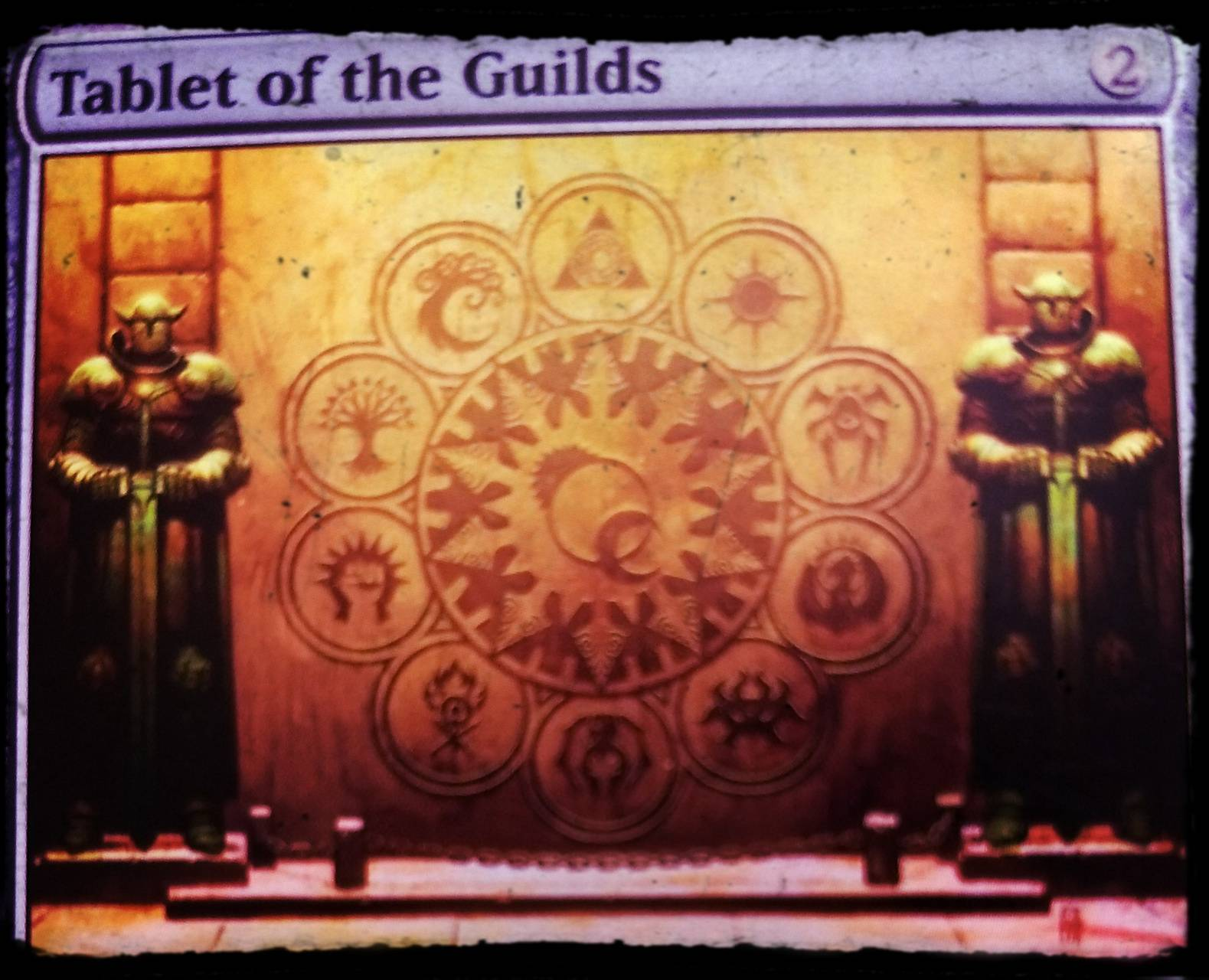 Tablet of guild