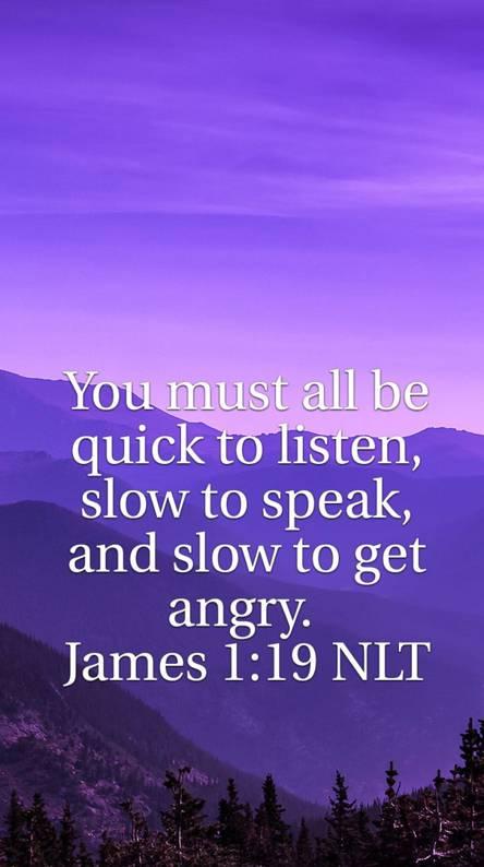 James 1 19 Bible