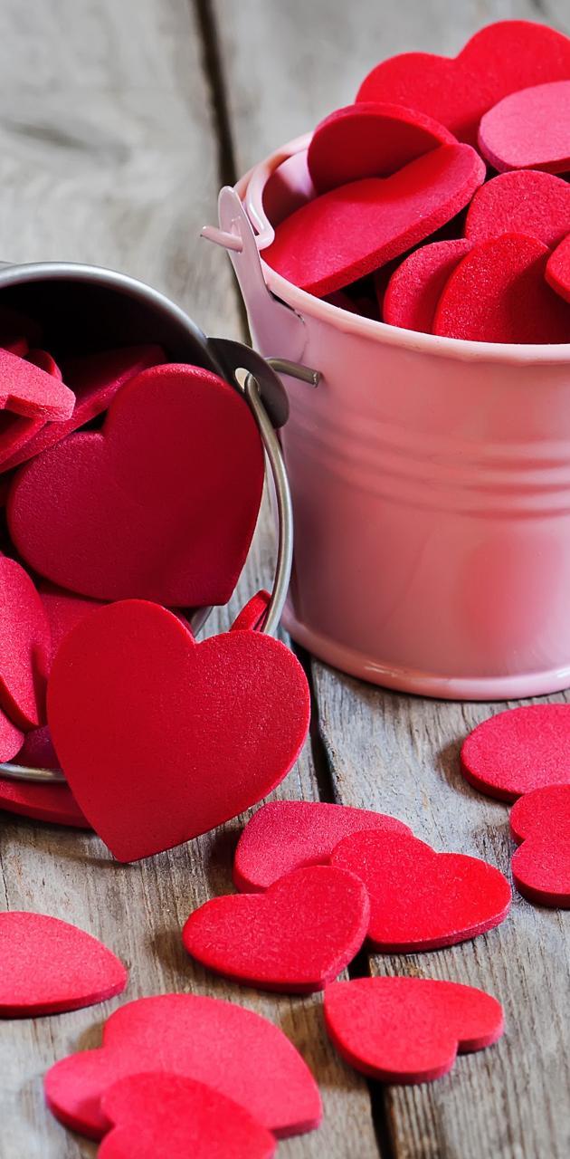 Hearts In Buckets