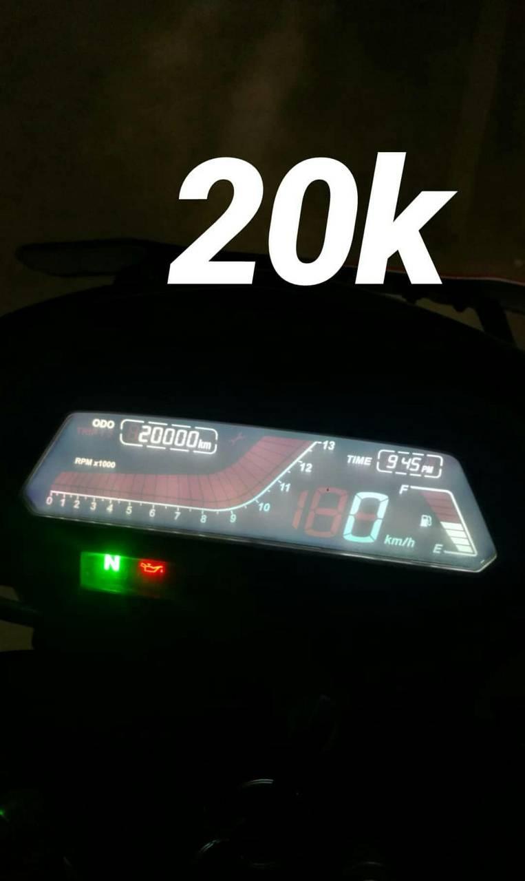 Dominar400 km 20k
