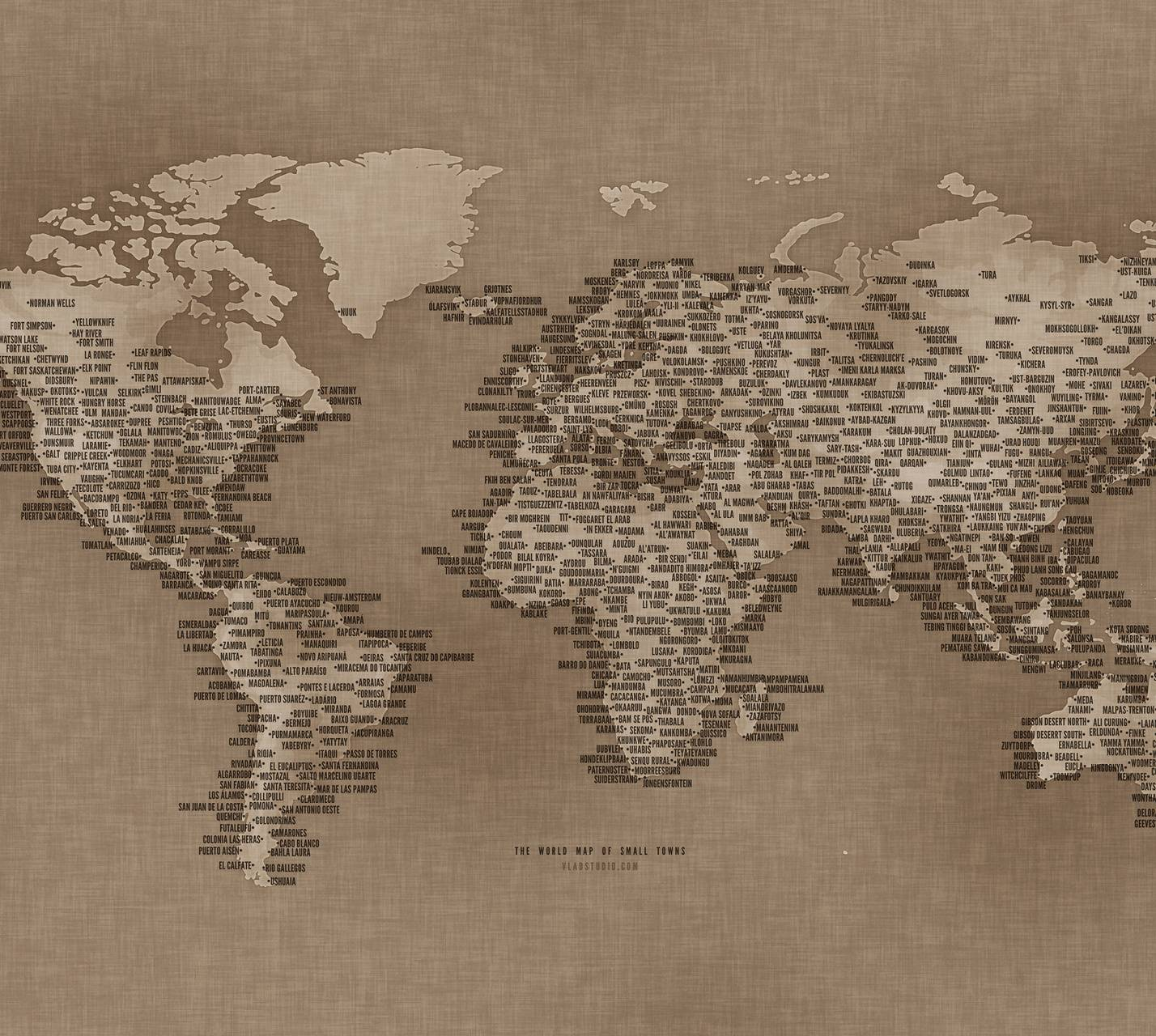 The World Map Of Sma