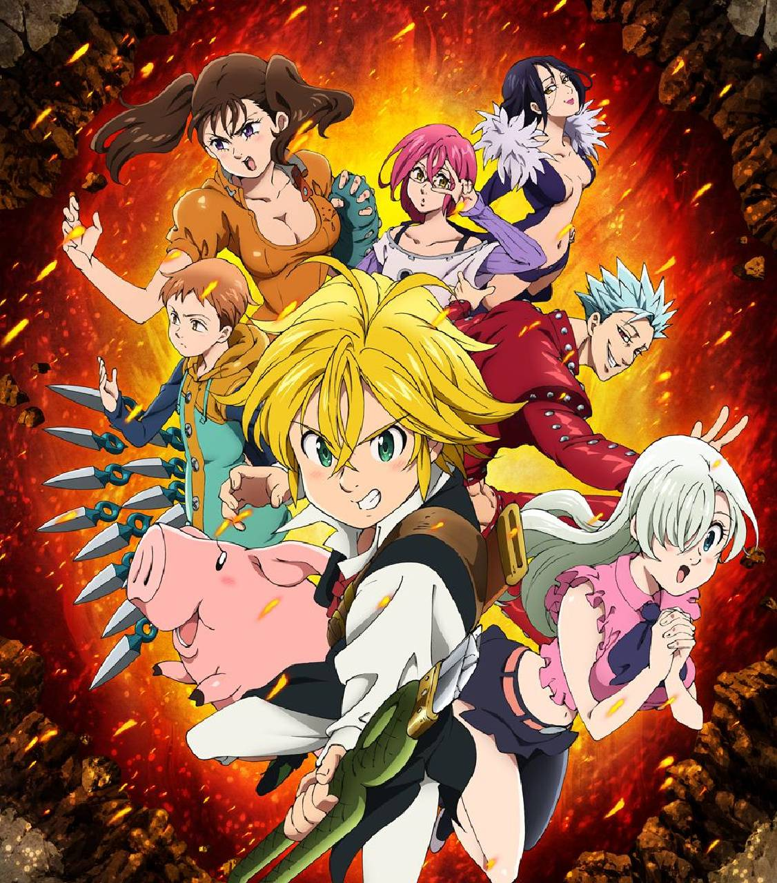 Nanatsu No Taizai Wallpaper By Manu Servin 92 Free On Zedge