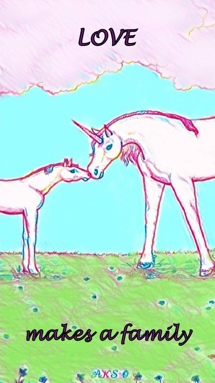 Family Love Unicorns