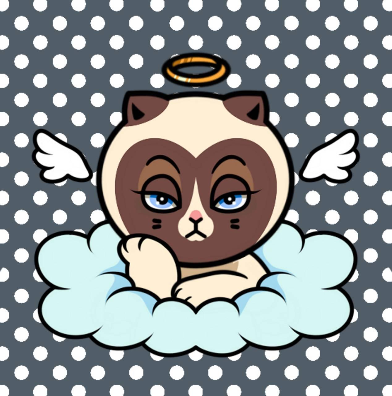 RIP GRUMPY CATTIE