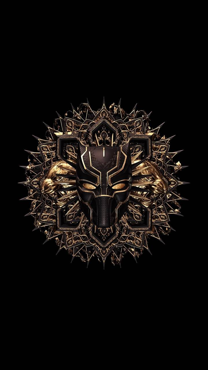 Black panther emblem