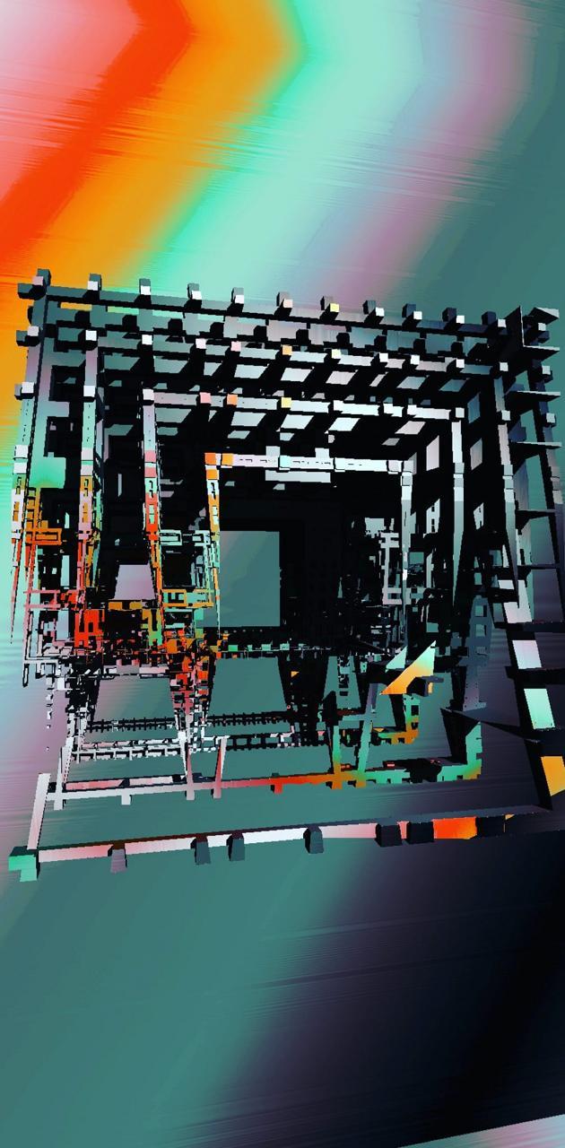 Cube 3d colors