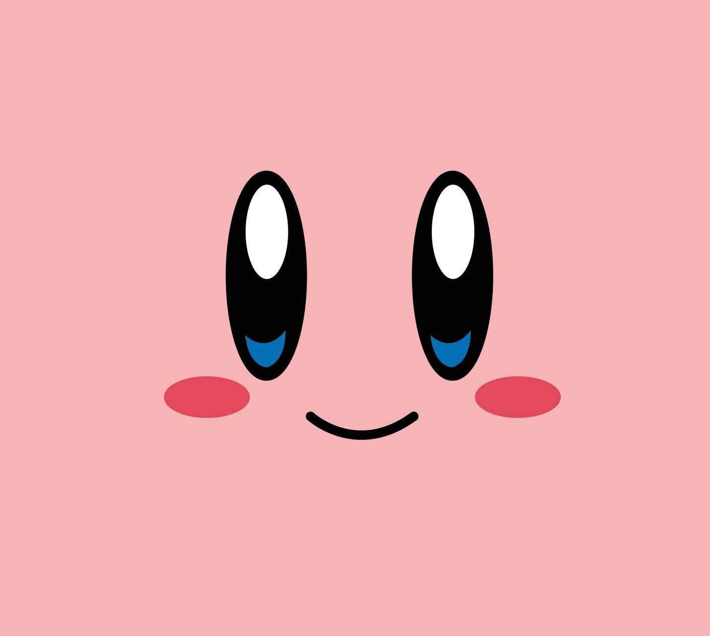 Kirby Face Wallpaper By Cbreezy122112