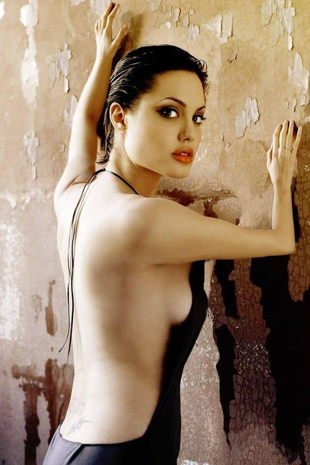 Pornographic photo of artist angelina jolie