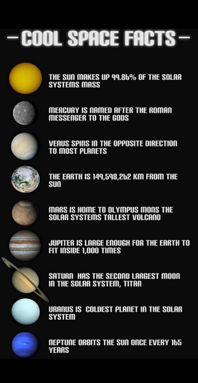 solar system facts - 600×1200