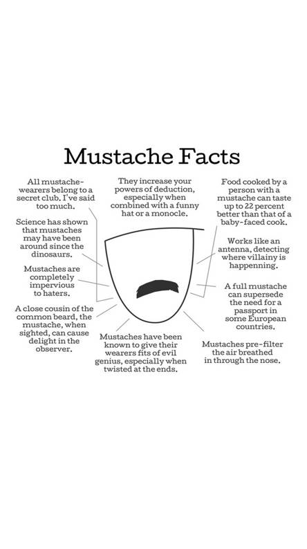 Mustache Facts