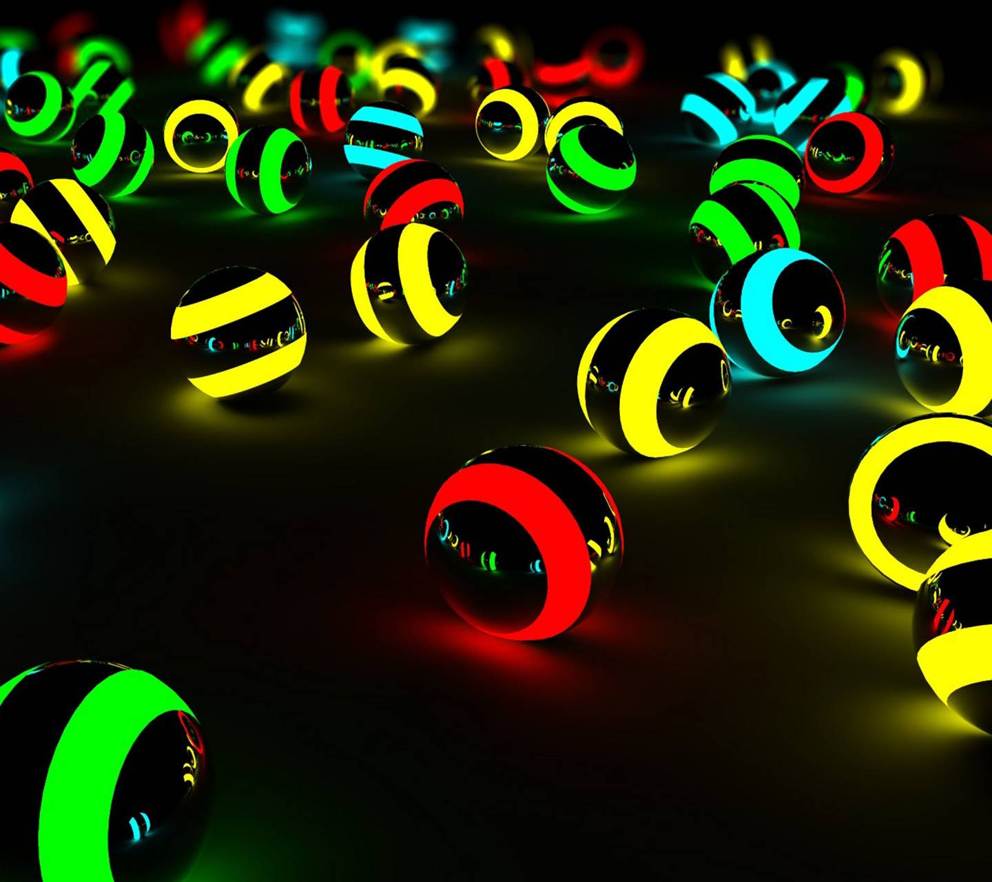 Neon Marbles 1
