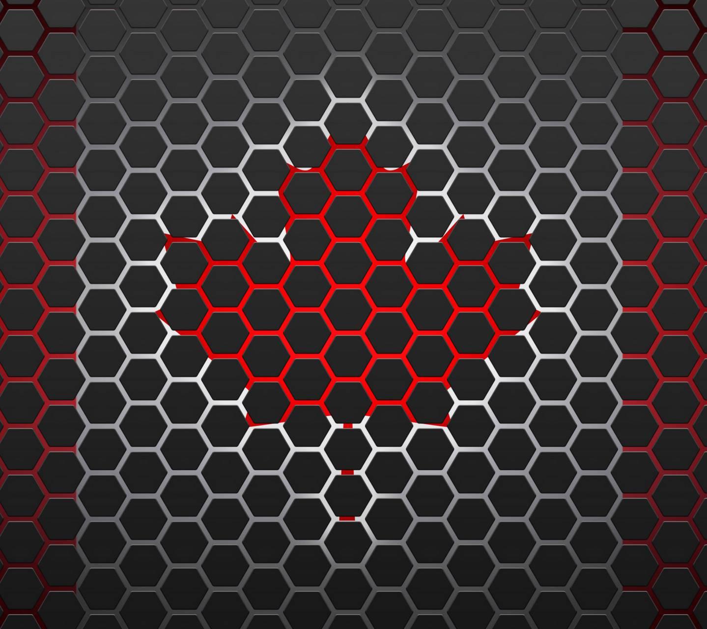 Hexagon Maple Leaf