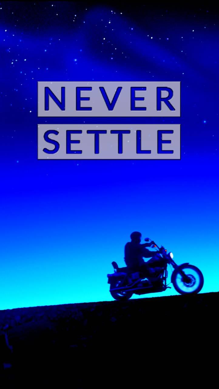 Never Settle Bike