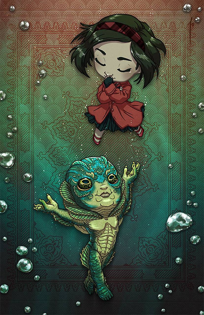 The Shape Of Water Wallpaper By Toxictidus 4e Free On Zedge