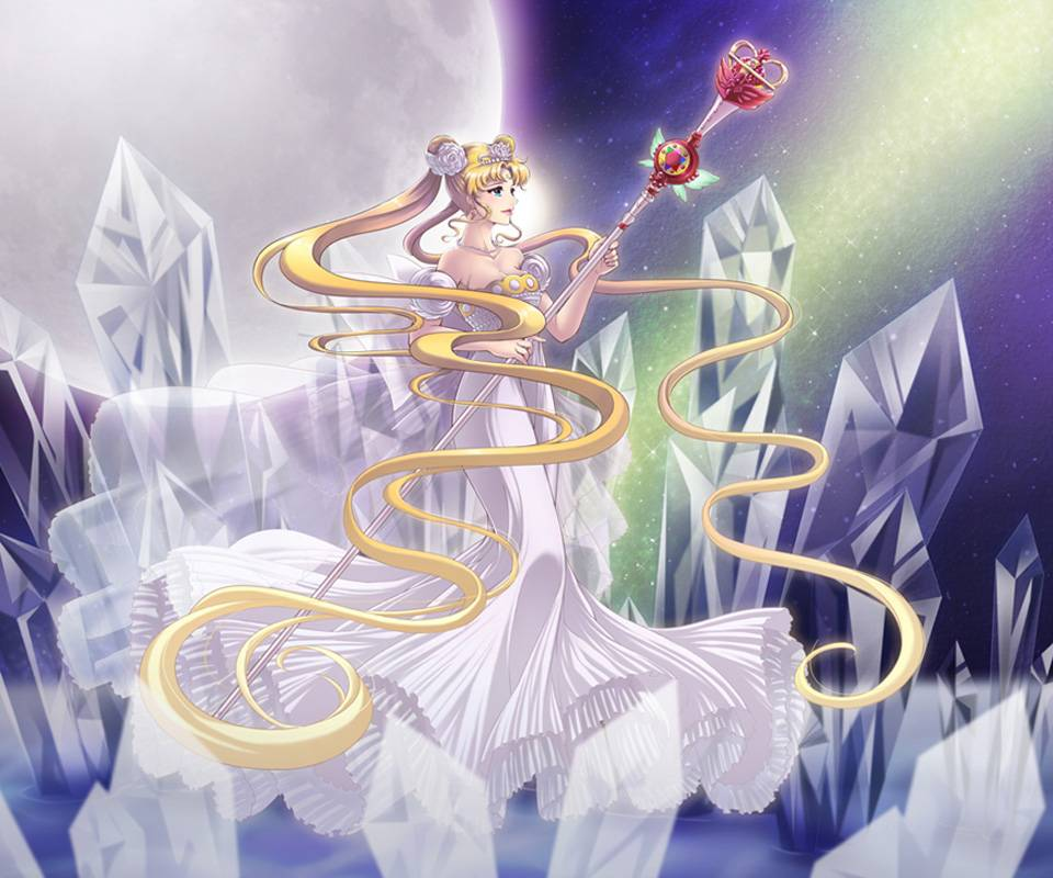 Neo Queen Serenity Crystal: Neo Queen Serenity Wallpaper By AnnaMaryMarian