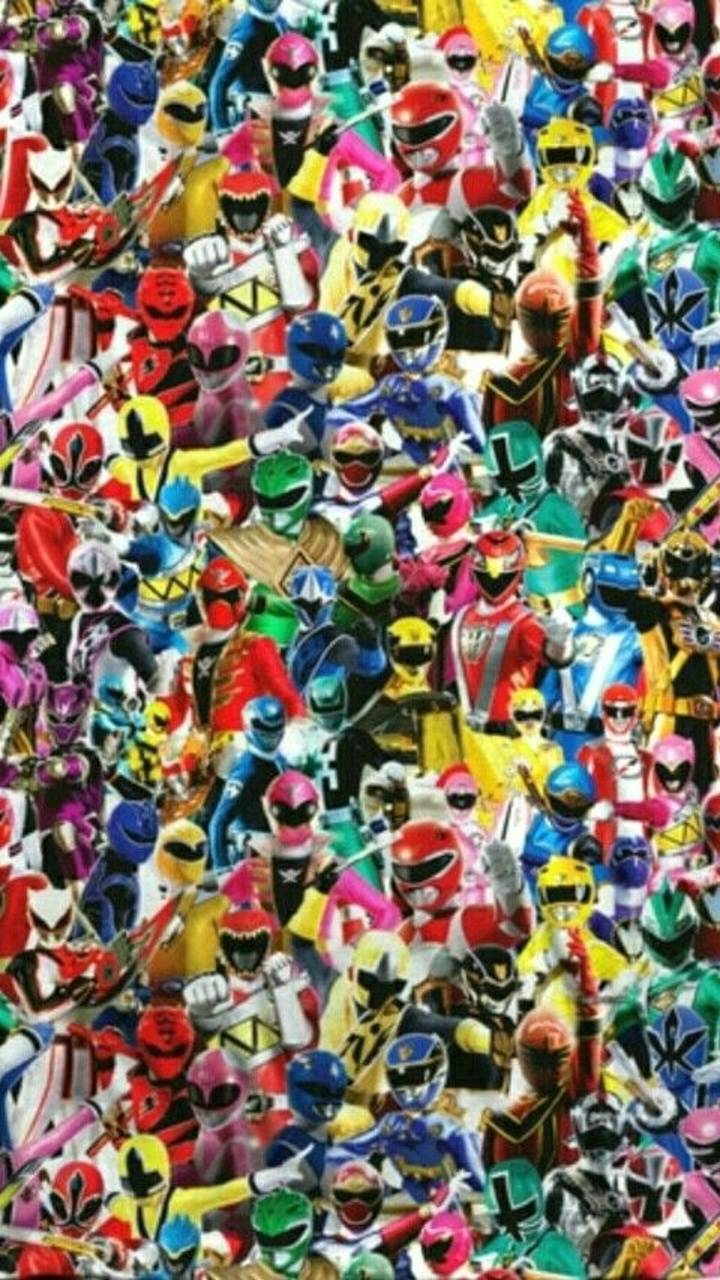 Power Rangers 25th Wallpaper By Captamerica455 B7 Free On Zedge
