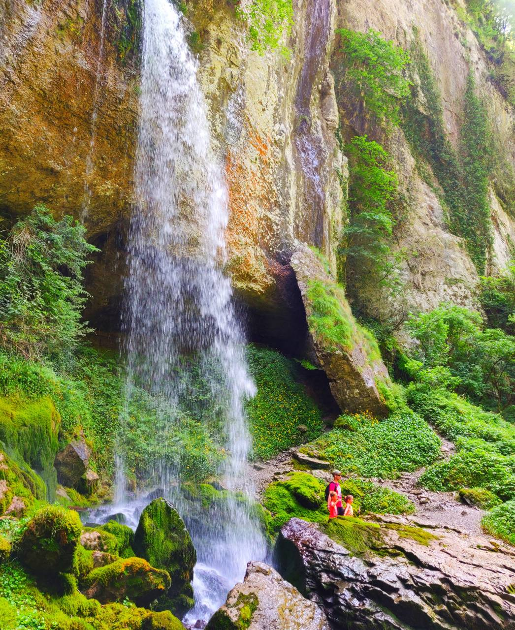 Waterfall in moutain