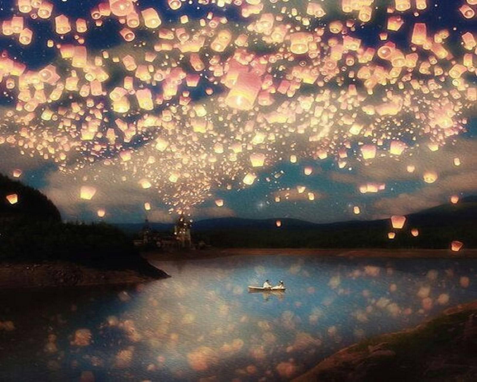 Disney Lake Lights