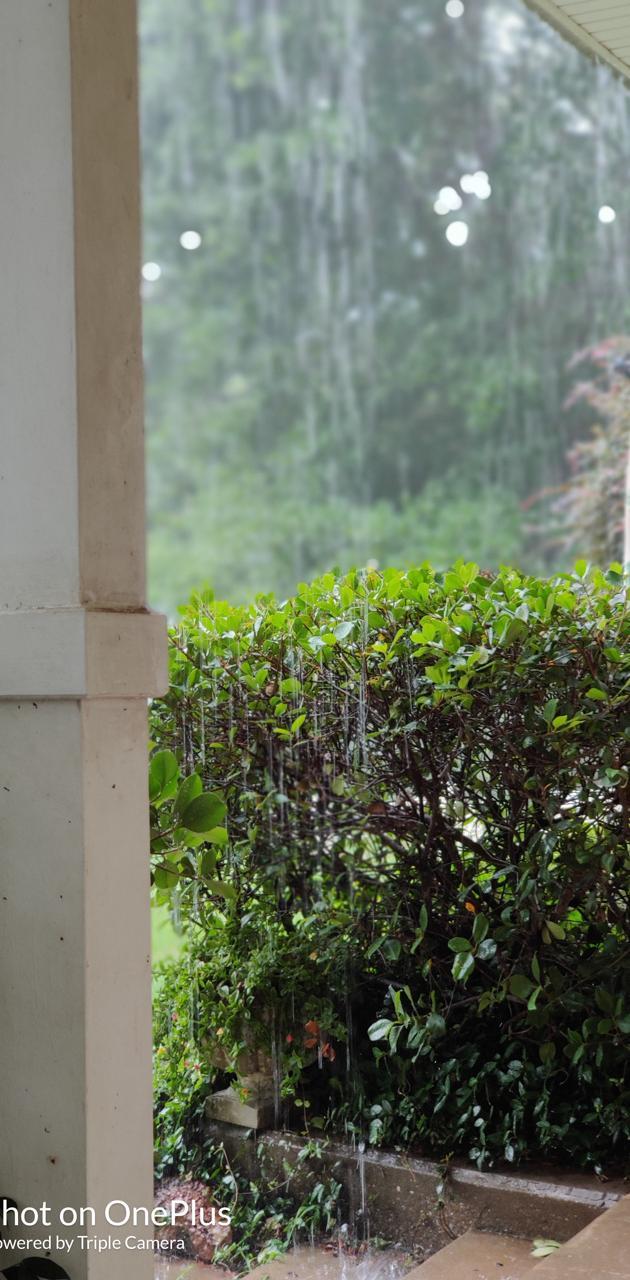 Front porch rain
