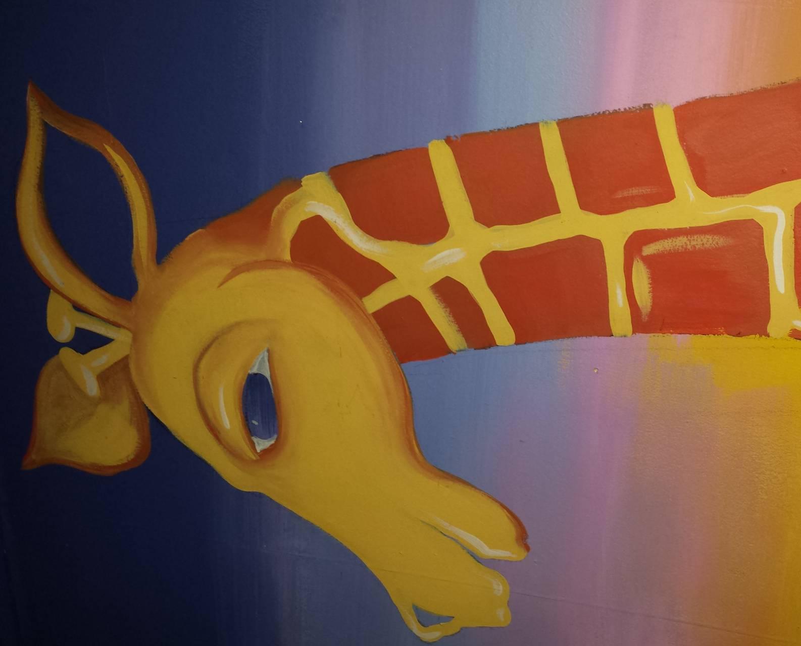 Gary the giraffe