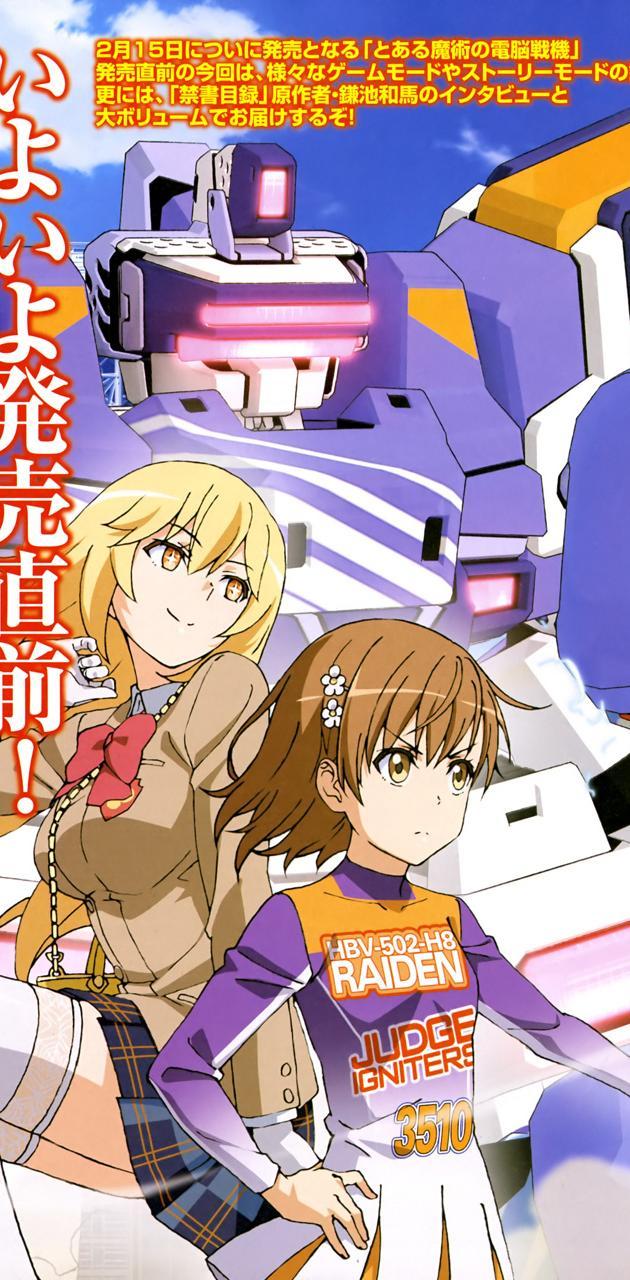Misaka AND misaki