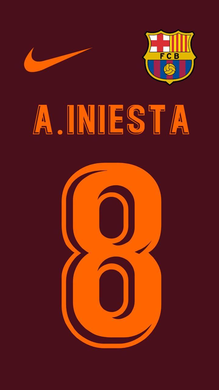 Iniesta FCB Third