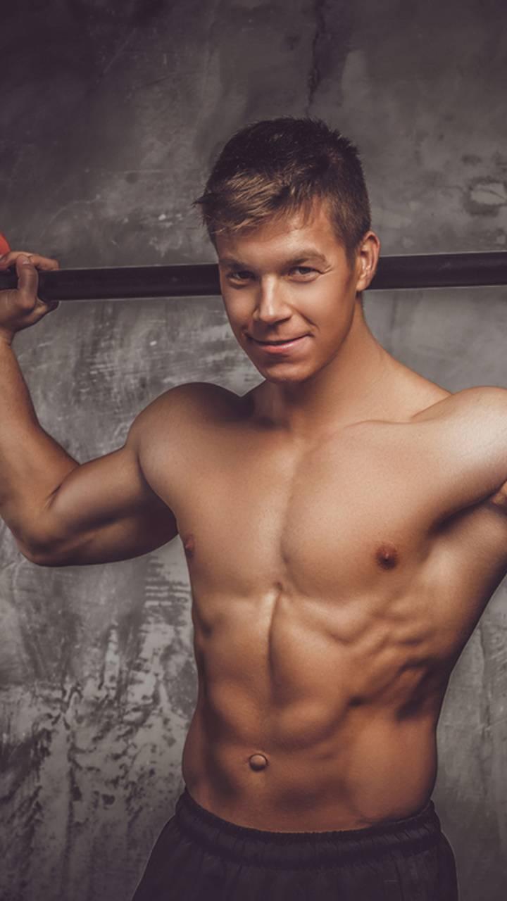 Muscle Cute Guy