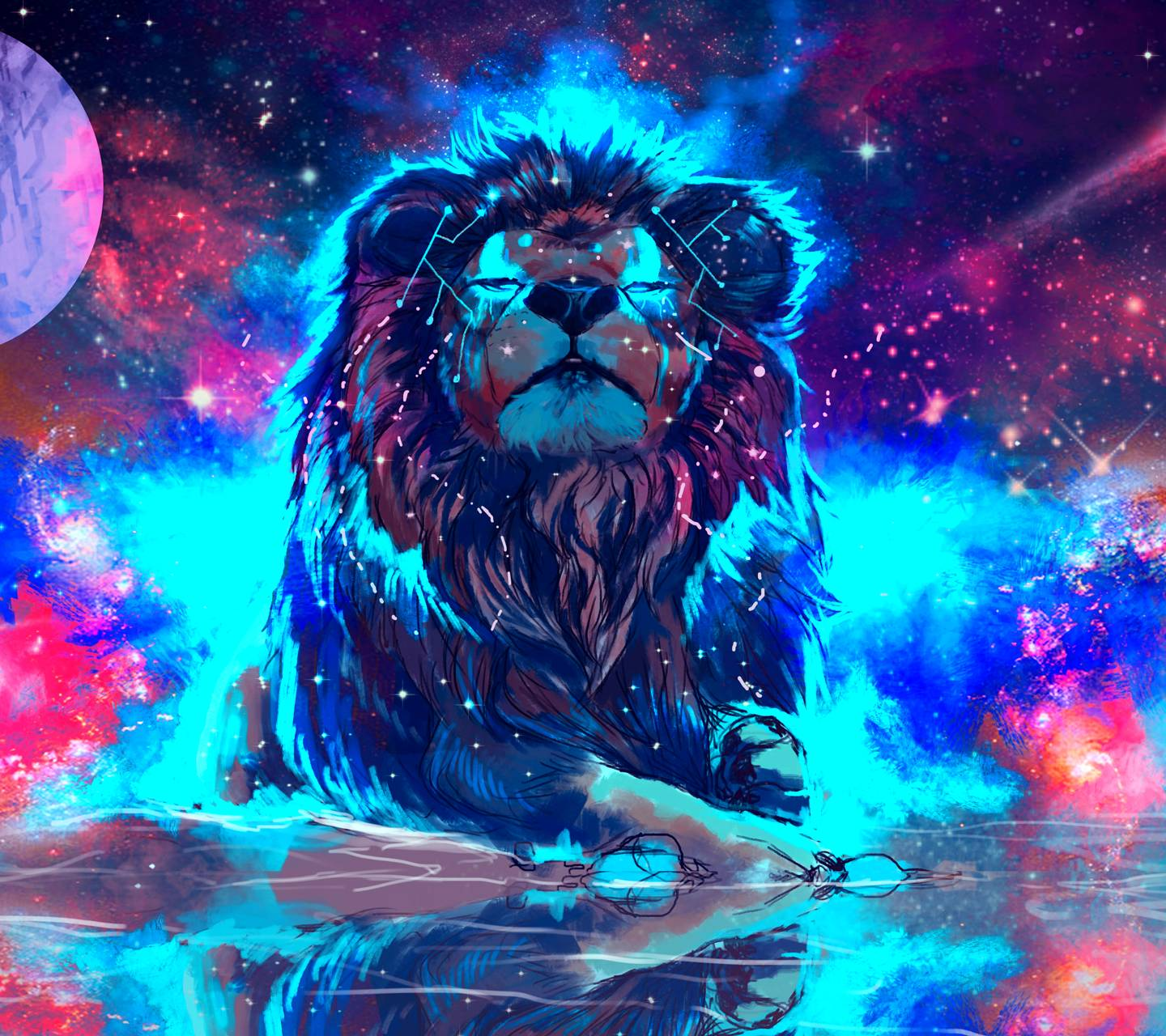 Free By Zedge: Lion Wallpaper By ViBy87
