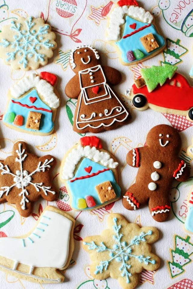 Christmas Cookies Wallpaper.Christmas Cookies Wallpaper By Butterfly 2479 71 Free On