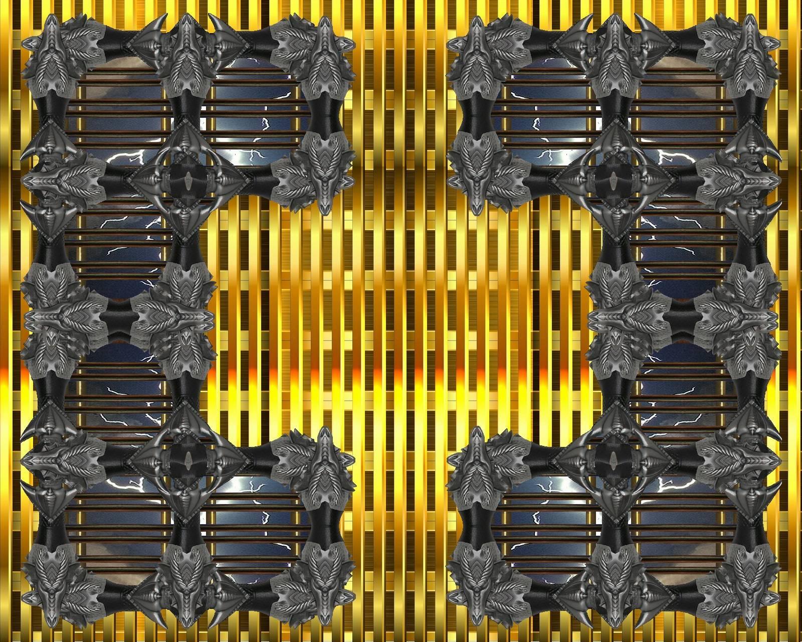 Gold Dragonhead